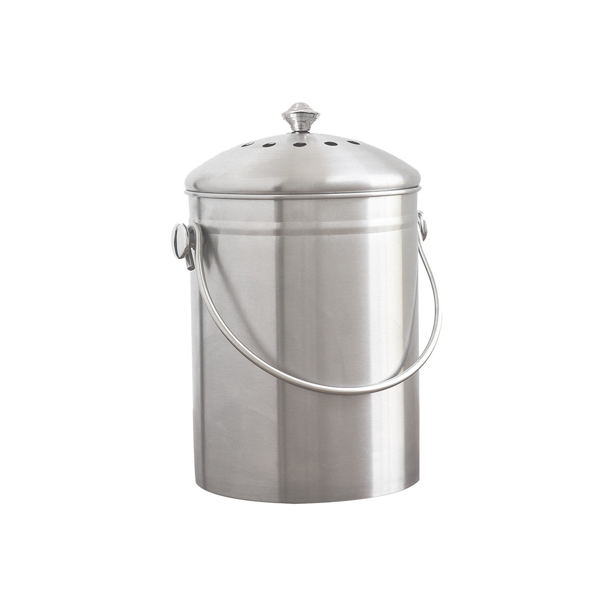Beau ... Stainless Steel Kitchen Compost Bin ...