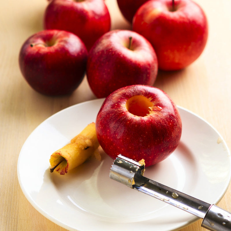 Apple Corer - Molded Bamboo® & Stainless Steel