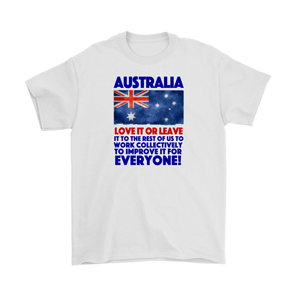 Australia - Love it! - MultipleShirts - Designs with Attitude
