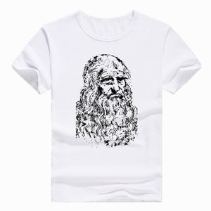 Da Vinci - MultipleShirts - Designs with Attitude