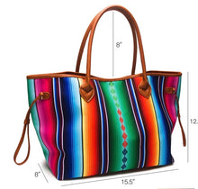 Load image into Gallery viewer, Fiesta Serape Tote