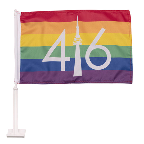 Pride 416 Car Flag
