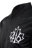 416 Men's Bomber Jacket - Black