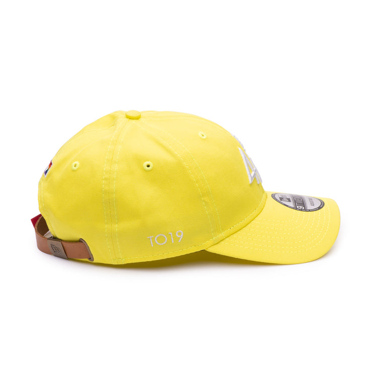 416 New Era 9TWENTY Adjustable Cap - Yellow / Rainbow