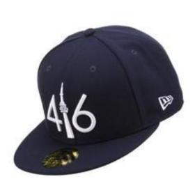 416 New Era 59FIFTY - NY NAVY BLUE/WHITE LOGO