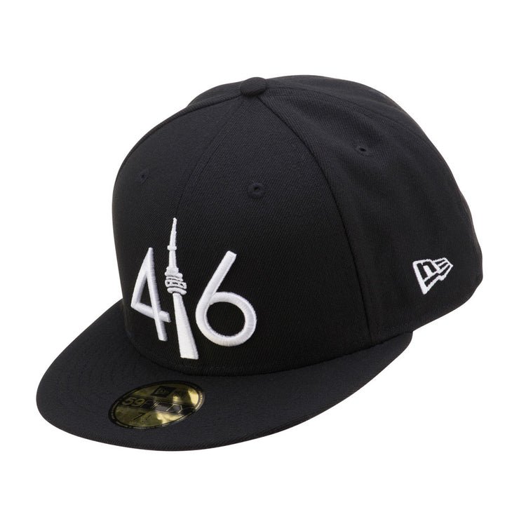 416 New Era 59FIFTY - Black / White