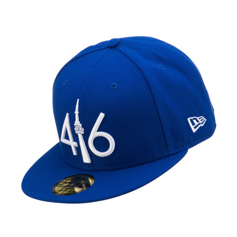 416 New Era 59FIFTY - ROYAL BLUE/WHITE LOGO