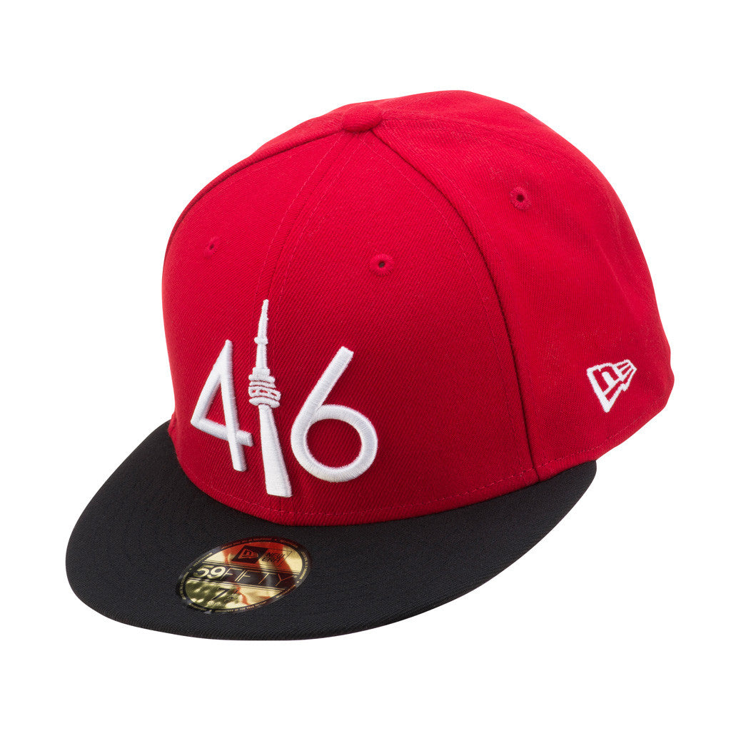 AVAILABLE AT LIDS   - Limited Edition 416™ New Era 59FIFTY - RED BLA –  416 Company 1b5604e3f26