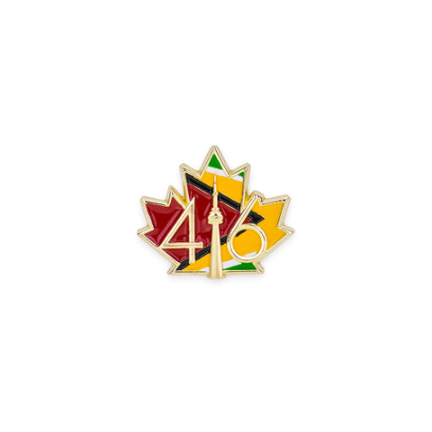 416™ Guyana Flag Lapel Pin