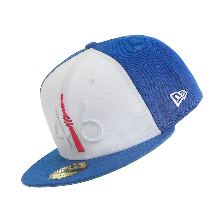 416 New Era 59FIFTY - Royal Blue / Red Tower