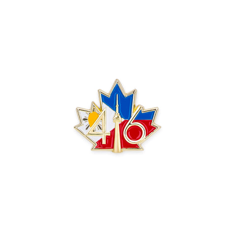 416 Philippines Flag Lapel Pin