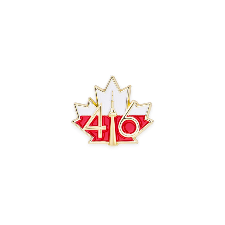 416 Poland Flag Lapel Pin