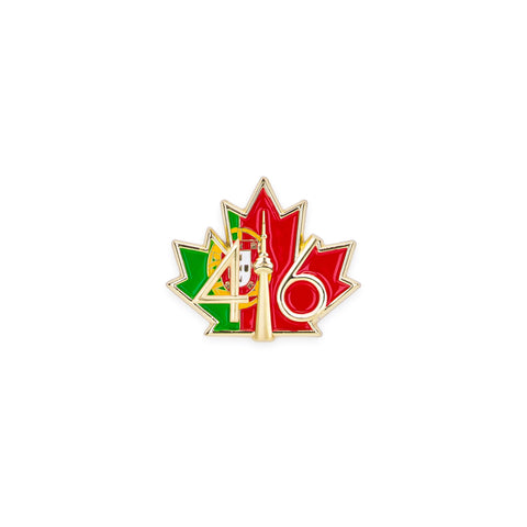 416 Portugal Flag Lapel Pin