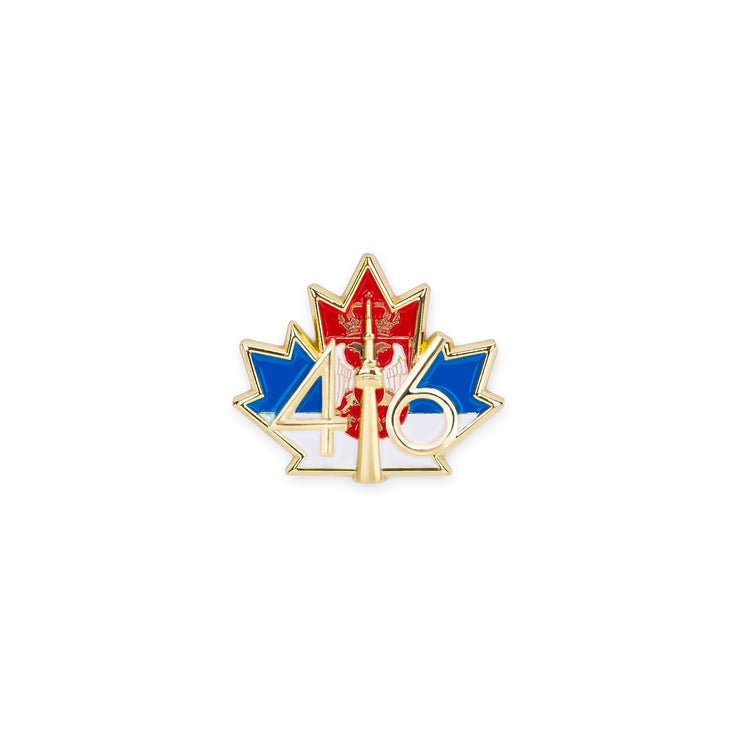 416 Serbia Flag Lapel Pin