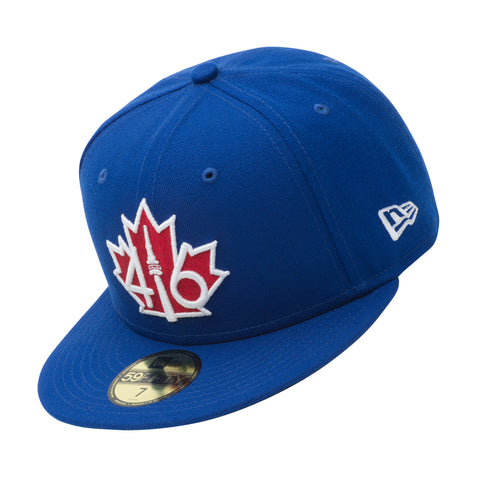 *NEW* 416™ New Era 59FIFTY - ROYAL BLUE/RED LEAF