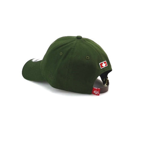 416™ New Era 9TWENTY - OLIVE/WHITE LOGO