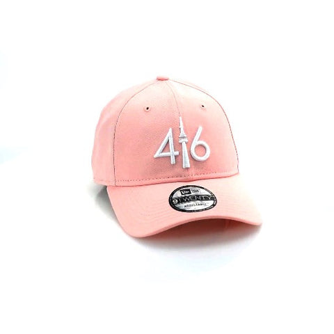 416™ New Era 9TWENTY - PINK/WHITE LOGO
