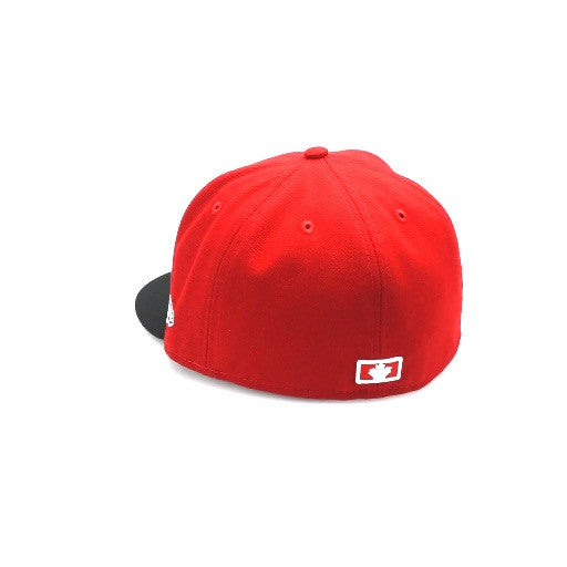 416 New Era 59FIFTY - Red / Black / White
