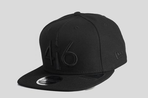 416 New Era 9FIFTY Snapback - Blackout