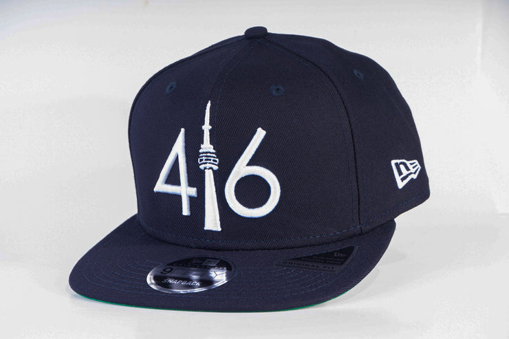 416 New Era 9FIFTY Snapback - Navy