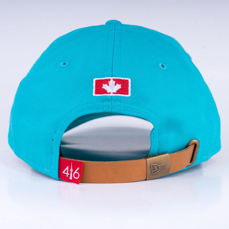 416 New Era 9TWENTY Adjustable Cap - Teal