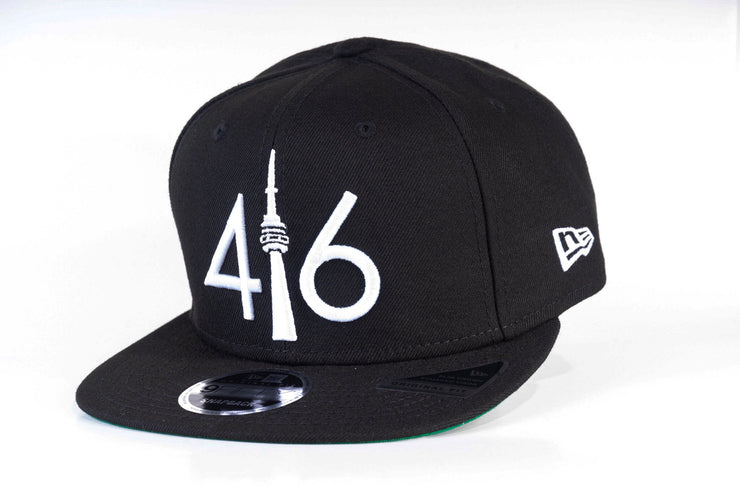 416 New Era 9FIFTY Snapback - Black / White