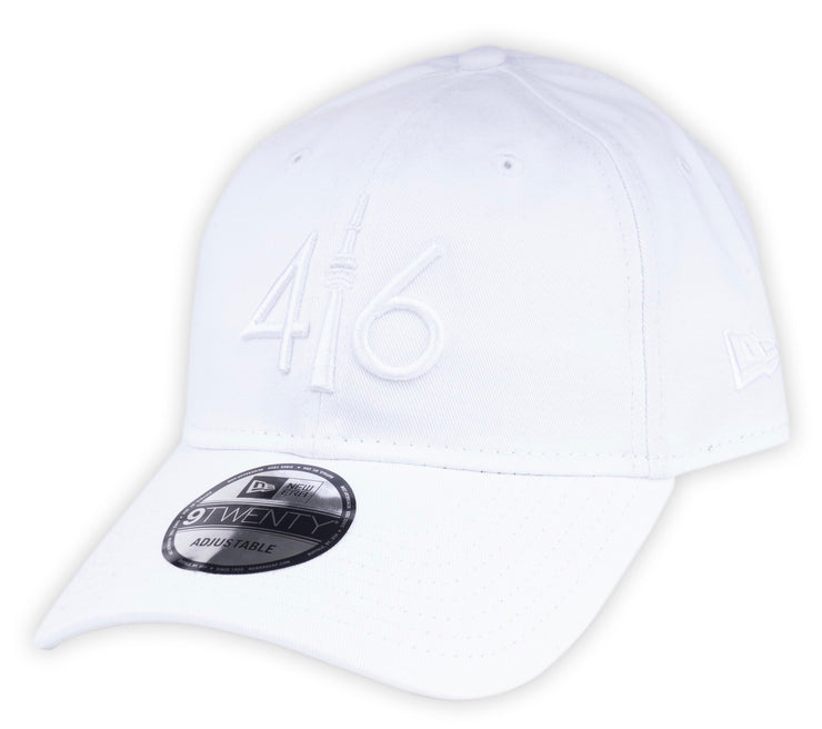 416 New Era 9TWENTY Adjustable Cap - White