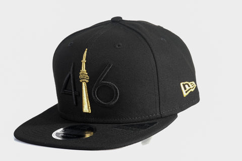 416 New Era 9FIFTY Snapback- Black / Gold