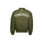 416 Men's Bomber Jacket - Olive