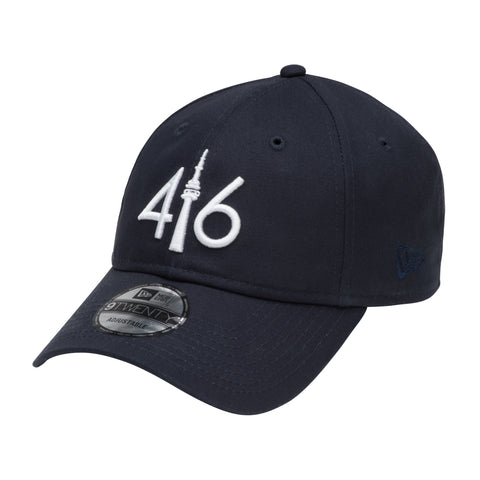 416 New Era 9TWENTY - NY NAVY BLUE/WHITE LOGO