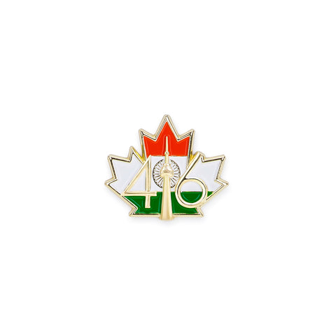 416™ India Flag Lapel Pin