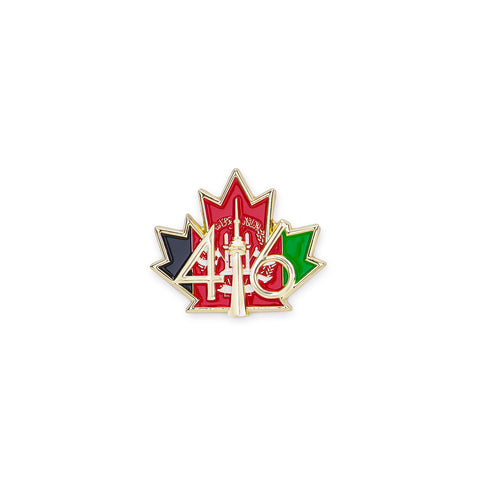 416™ Afghanistan Flag Lapel Pin