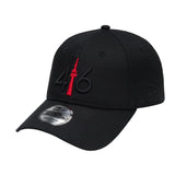 416 New Era 9TWENTY - BLACK/RED TOWER