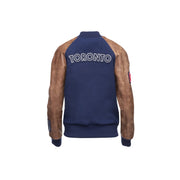 416 Roots Awards Jacket - Women's Blue & brown