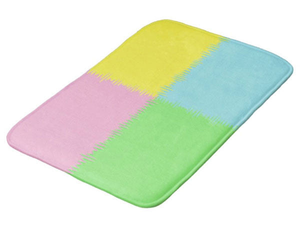 Bath Mats with Inspirational Life Quotes, Funny Quotes & Colorful Prints - COLORADDICTED.COM