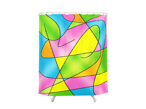Shower Curtains with Inspirational Life Quotes, Funny Quotes & Colorful Prints - COLORADDICTED.COM