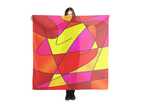Large Square Scarves & Shawls with Inspirational Life Quotes, Funny Quotes & Colorful Prints - COLORADDICTED.COM