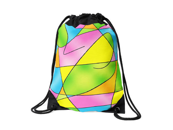 Drawstring Bags with Inspirational Life Quotes, Funny Quotes & Colorful Prints - COLORADDICTED.COM
