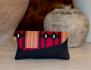 Black Clutch Purse Medium
