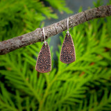 Copper Byzantine Teardrop Earrings