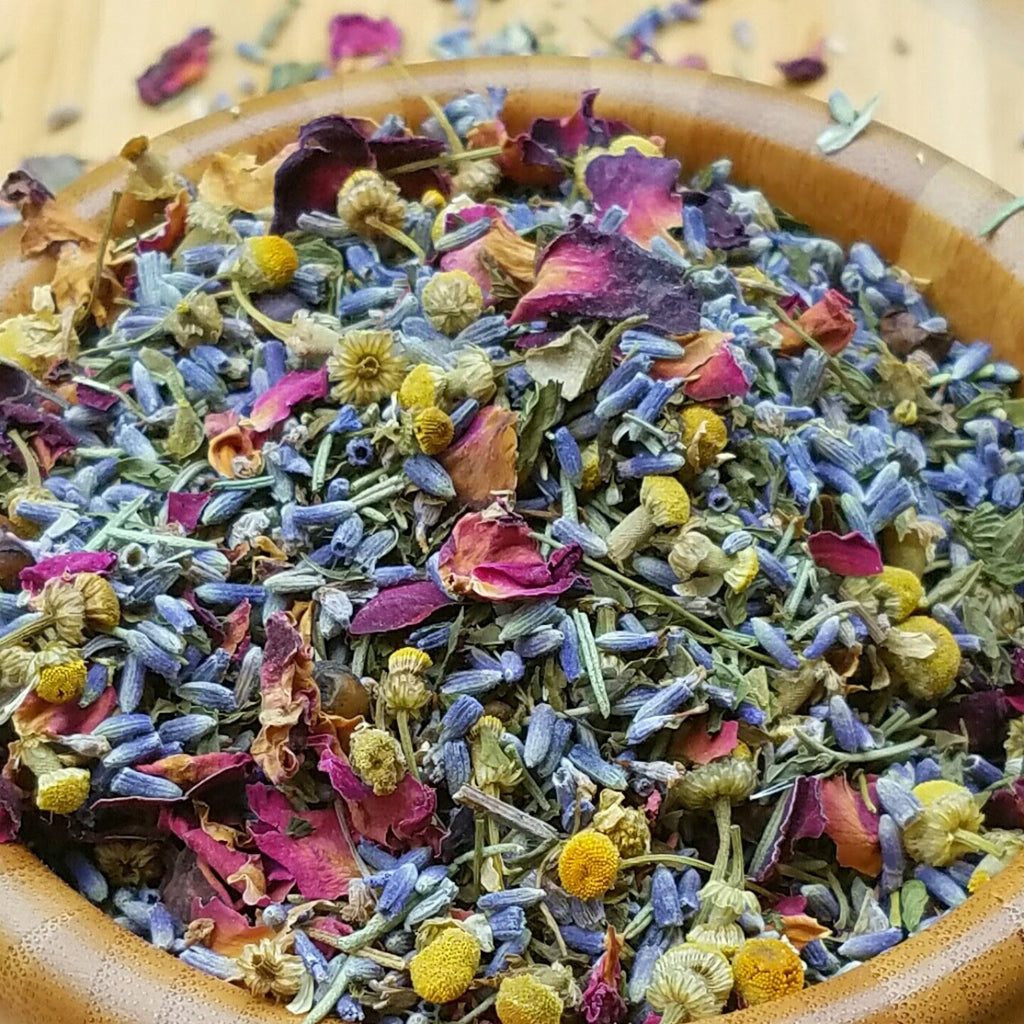 Lavender Bath Tea with Spa Salts