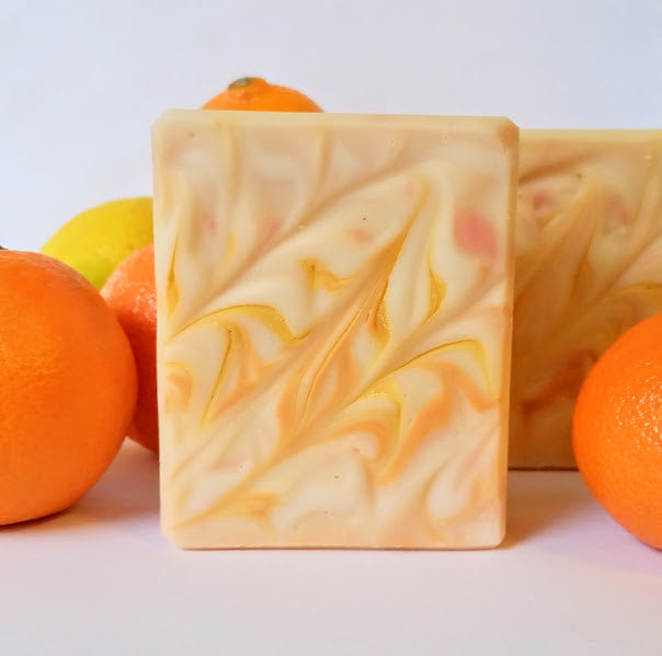 Grapefruit Orange Scented Soap