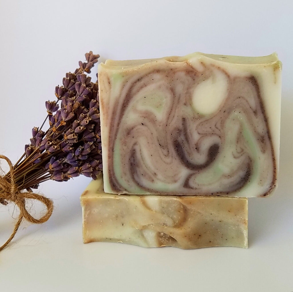 Lavender Rosemary Scented Soap