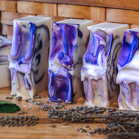 Lavender Patchouli Scented Soap