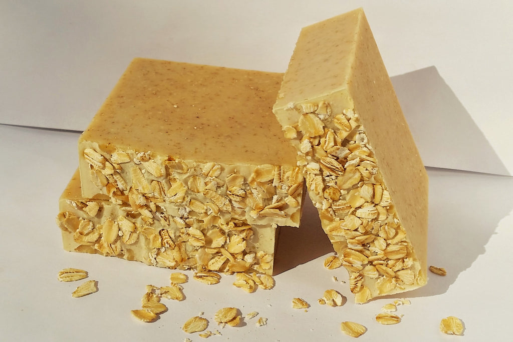 Oatmeal Honey Scented Soap