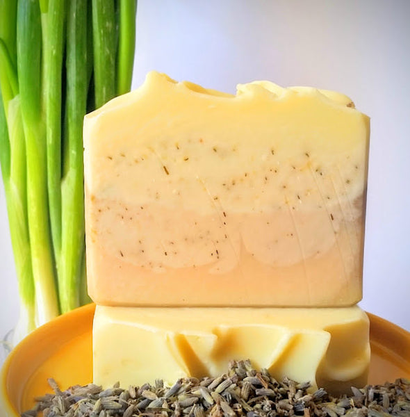 Lavender Lemongrass Scented Soap