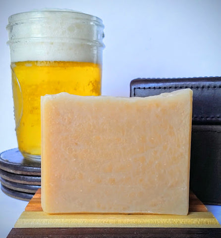 Beer Soap Scented with Teakwood and Cardamom