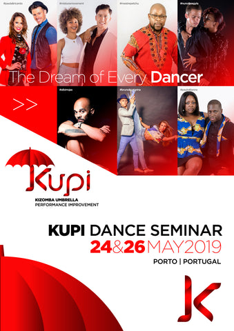 KUPI - Kizomba Umbrella Performance Improvement > 24th to 26th May 2019 in Porto, Portugal