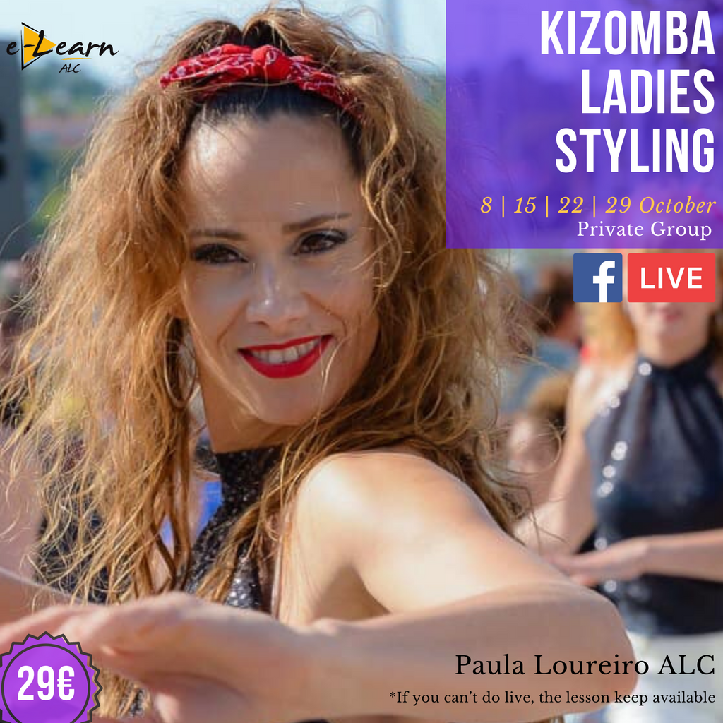 Kizomba Lady Styling | Live On 8th, 15th, 22th and 29th  October 2020