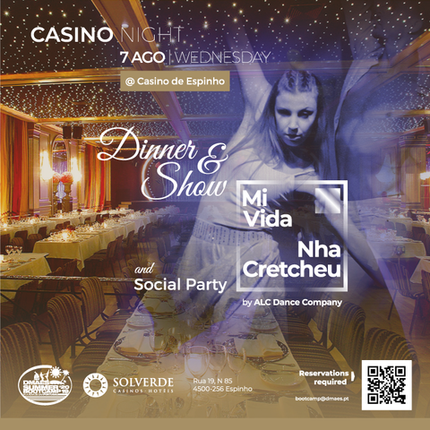 CASINO NIGHT @Casino Espinho | 07.08.2019 - DMAES Summer BOOTCAMP 2019